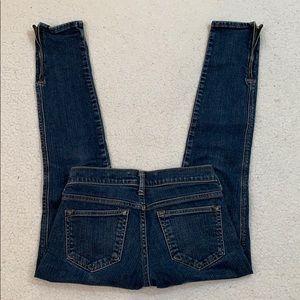 Old Navy Ultra Low Waist Skinny Stretch Jeans